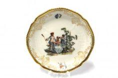Rosenthal Sanssouci Hoeroldt Arkadien Tellerchen 9 cm