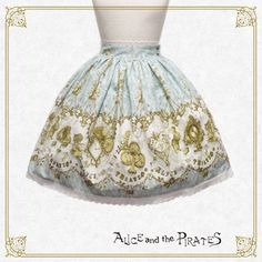 Alice and the Pirates ALICE and the Mechanical Wonder Time Travel skirt