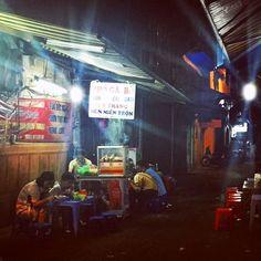 Cenar fuera en #Hanoi! #vietnam16im