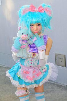 candy gummy bear girl.