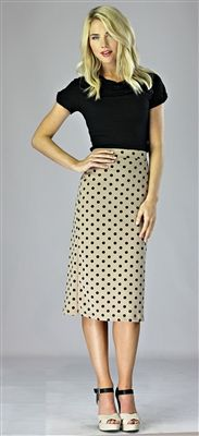 So adorable!! Perfect for work, church, interviews, everyday wear :) We love this outfit!! From Mikarose Summer Collection 2013