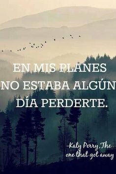 y te perdi ... que seas feliz ... #Frases