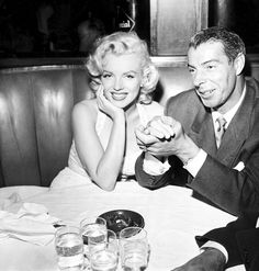 With her husband, baseball great, George DiMaggio.