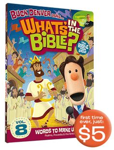 What's in the Bible? Summer Kick-Off Sale http://kidsintheword.net/whats-bible-summer-kick-sale/?utm_campaign=coschedule&utm_source=pinterest&utm_medium=Kids%20in%20the%20Word%20(Equip)&utm_content=What's%20in%20the%20Bible%3F%20Summer%20Kick-Off%20Sale // What's in the Bible? Vol 8 is only $5 thru 6/10/14