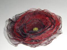 Bordo Organza Blume