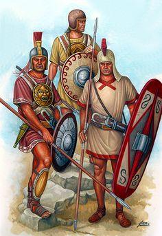 Iberian spearmen, Punic War