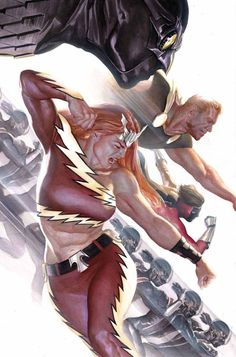 Squadron Supreme #4 by Alex Ross *
