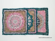 We are over the half-way mark already for Nuts about Squares CAL, how times just goes! The name of the square we are making this week kind of says it all… The square is called Fantastic and i… Crochet Squares, Crochet Motif, Crochet Stitches, Free Crochet, Crochet Patterns, Afghan Crochet, Granny Squares, Knitted Blankets, Crocheted Afghans
