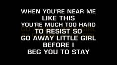 Donny Osmond - Go Away Little Girl (Karaoke)