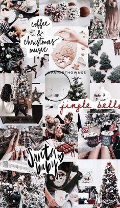 Wallpaper Collage, Wallpaper Free, Christmas Phone Wallpaper, Christmas Aesthetic Wallpaper, Holiday Wallpaper, Trendy Wallpaper, Aesthetic Iphone Wallpaper, Cute Wallpapers, Wallpaper Backgrounds