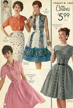 Shopping For The Vintage Shoes - Popular Vintage Retro Fashion 60s, Vintage Fashion 1950s, Vintage 1950s Dresses, Vintage Outfits, 1960s Fashion Women, 1950s Fashion Dresses, Retro Mode, 20th Century Fashion, Fashion Catalogue