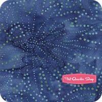 Edyta's Essential Batiks Blueberry Fern Yardage SKU# 42200-28