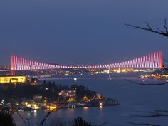 Bosphorus Bridge Istanbul/TURKEY