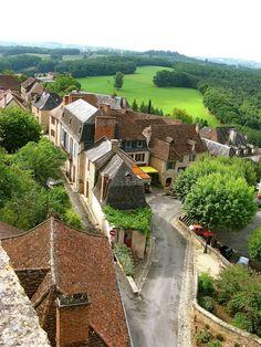 Village de Hautefort Périgord, Frankrijk