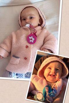 Cappottino lana baby