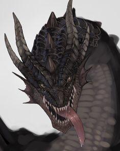 Monster Hunter Series, Monster Hunter Art, Monster Art, Magical Creatures, Fantasy Creatures, Dragon Medieval, Cry Anime, Anime Art, Supernatural