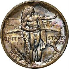 1938 U.S. Oregon Trail Commemorative Half Dollar