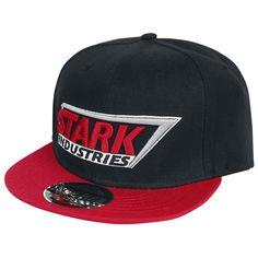 "Cappellino ""Stark Industries Logo"" di #IronMan con visiera. Regolabile."