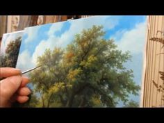 Прописка (часть 3) - YouTube Oil Painting Lessons, Acrylic Painting Techniques, Painting Videos, Pour Painting, Oil Painting On Canvas, Painted Leaves, Painting Still Life, Art For Art Sake, Learn To Paint