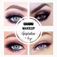 2017 | Makeup Inspiration + DIYs #Beauty #Musely #Tip