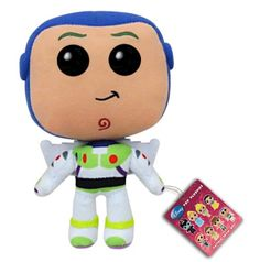 Funko POP: Disney Buzz Light-Year Plush http://popvinyl.net #funko #funkopop #popvinyl