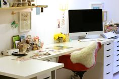 a peek in Lexi Bridge's workspace