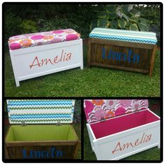 Diy toy chests