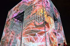 marcos zotes sites immersive digital P-cube in moscow's VDNKh park