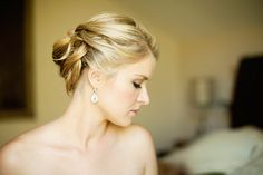 gorgeous bridal hairstyle updo | Images by CHARD photographer