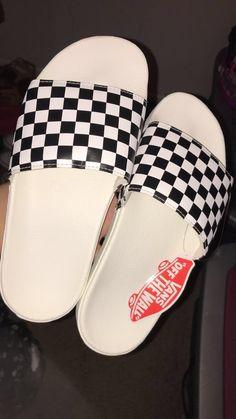 Cute Sandals, Shoes Sandals, Flats, Vans Shoes, Shoes Sneakers, Cute Slides, Fresh Shoes, School Shoes, Shoe Closet