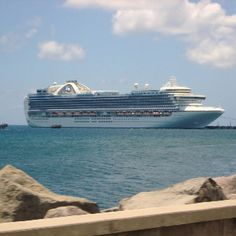 Princess Cruises - Caribbean  LOVE LOVE LOVE CRUISING< You have to love the water. Wayne and I DO!!!