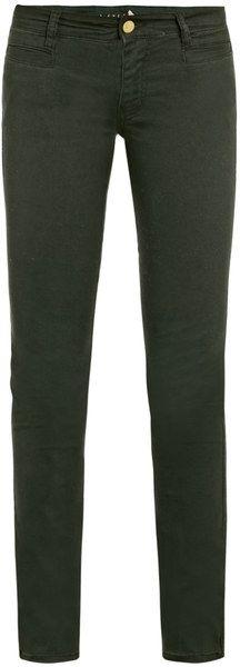 Oslo Mid-Rise Slim Leg Jeans