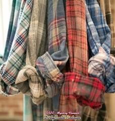 FREE SHIP! -Mystery Vintage Flannel Shirts - Pick Your Size & Color