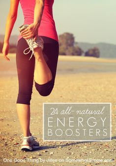 All Natural Energy Boosters + Giveaway! - Somewhat Simple