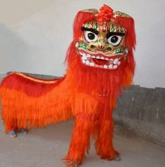9b946f189 Clearance price chinese lion dance costume for two men chinese lione dancer  clothing festival costumes new year dancer costumes. Novelty Stuff