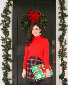 Likes, 63 Comments - Abigail Casual Holiday Outfits, Winter Outfits, Preppy Christmas, Merry Christmas, Love You All, Preppy Style, Festival Outfits, Classic Style, What To Wear