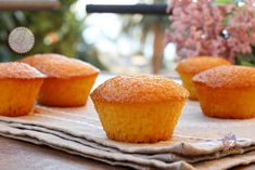 MUFFIN 8 CUCCHIAI Tea Recipes, Dairy Free Recipes, Sweet Recipes, Cake Recipes, Dessert Recipes, Mini Desserts, Italian Desserts, Muffins, Bakery Cakes