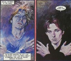Daniel Molloy and Armand in the Vampire Chronicles' comics.