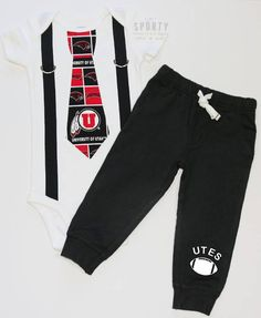 9587edc29 51 Best NCAA Boys Onesies and Outfits images | Babies clothes, Baby ...