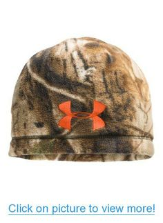 c3d12929e02 Under Armour Men s UA Outdoor Camo Fleece Beanie Under Armour Hunting