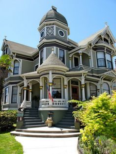 Breathtaking 103 Elegant Victorian Home Exterior Style cooarchitecture.c...