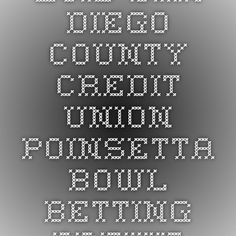 2015 San Diego County Credit Union Poinsetta Bowl Betting Preview - Boise State Favored Over Northern Illinois