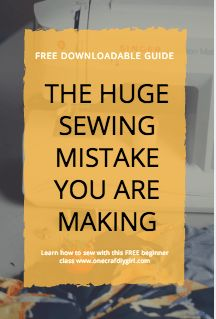 Sewing Master Class: Lesson 2 Threading your machine - One CrafDIY Girl