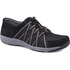 Shop for Women's Dansko Honor Sneaker Black/Black Suede. Get free delivery On EVERYTHING* Overstock - Your Online Shoes Outlet Store! Wide Shoes, On Shoes, Dansko Shoes, Mules Shoes, Clogs, Trendy Shoes, Casual Shoes, Women's Casual, Plantar Fasciitis Shoes