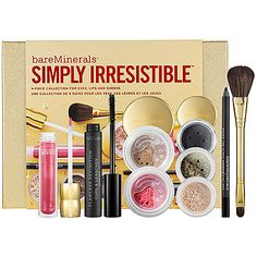 bareMinerals Simply Irresistible™ 9-Piece Collection For Eyes, Lips, & Cheeks : Shop Combinati
