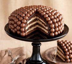 3 étapes pour réaliser un Maltesers cake