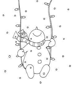 Snowman Christmas Lights Swing | Free Dearie Dolls Digi Stamps | Bloglovin'                                                                                                                                                                                 More