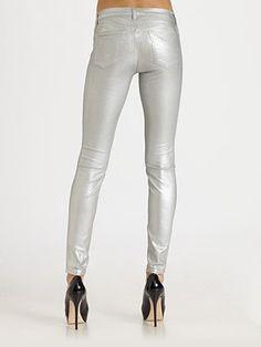 J Brand 901 Stonehenge Brand - 901 Super Skinny Coated Jeans