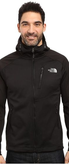 The North Face Tenacious Hybrid Hoodie (TNF Black/TNF Black) Men's Sweatshirt - The North Face, Tenacious Hybrid Hoodie, NF00CUZ4-610, Apparel Top Sweatshirt, Sweatshirt, Top, Apparel, Clothes Clothing, Gift - Outfit Ideas And Street Style 2017