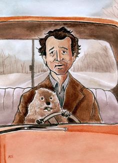 Fan Art Inspired by Bill Murray's Groundhog Day